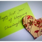 happy first year of blogging